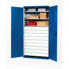 Bott Heavy Duty Workshop Cupboards (9 drawer-3 shelf) 40021114.11V