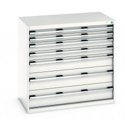 Bott Cubio 1050mm Wide 7 Drawer Cabinet 40021029
