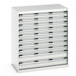 Bott Cubio 1050mm Wide 10 Drawer Cabinet 40021041