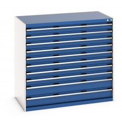 Bott Cubio 1300mm Wide 10 Drawer Cabinet 40022131