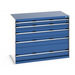Bott Cubio 1300mm Wide 5 Drawer Cabinet 40022121
