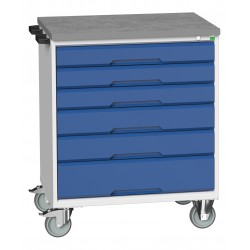 Bott Verso 6 Drawer Mobile Cabinet 16927005
