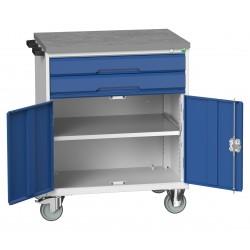 Bott Verso 2 Drawer + Cupboard mobile Cabinet 16927011