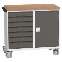 Bott Verso 7 Drawer + Cupboard Maintenance Trolley 16927128