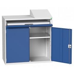 Bot Verso Double Door Computer Cupboard 16928021