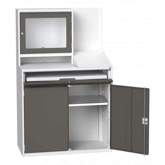 Bott Verso Double Door Computer Cupboard 16928022