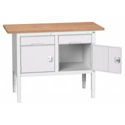 Bott Verso Height Adjustable Storage Benches 1250mm Wide 16923001