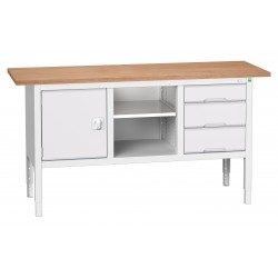 Bott Verso Height Adjustable Storage Benches 1750mm Wide 16923020