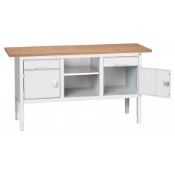 Bott Verso Height Adjustable Storage Benches 1750mm Wide 16923021