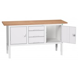 Bott Verso Height Adjustable Storage Benches 1750mm Wide 16923022