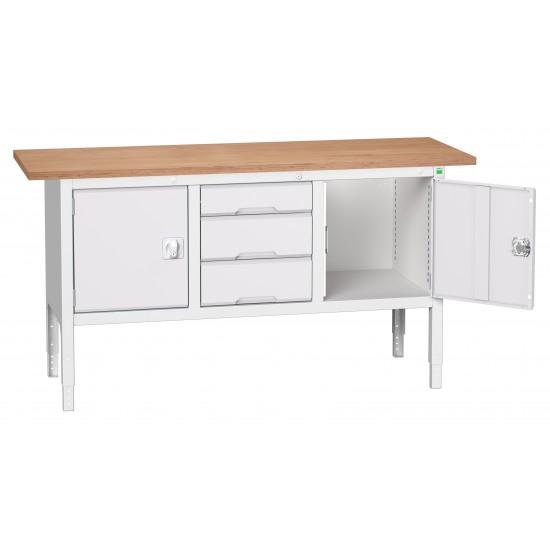 Bott Verso Height Adjustable Storage Benches 1750mm Wide 16923022