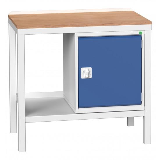 Bott Verso Welded Heavy Duty Bench With Cupboard 16922602