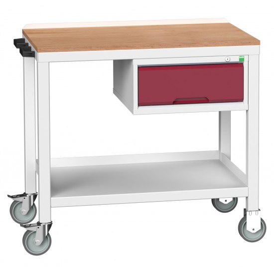 Bott Verso Welded Heavy Duty Bench With Drawer 16922600