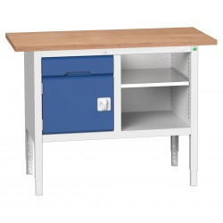 Bott Height Adjustable Storage Benches 1250mm Wide 16923000