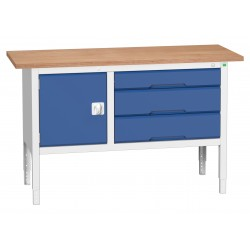 Bott Verso Height Adjustable Storage Benches 1500mm Wide 16923014