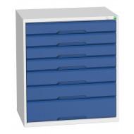Bott Verso 800mm Wide 7 Drawer Cabinet 16925129