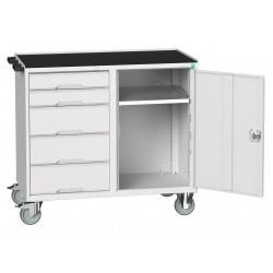 BOTT Verso 5 Drawer + Cupboard Maintenance Trolley 16927122