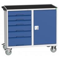 BOTT Verso 6 Drawer + Cupboard Maintenance Trolley 16927125