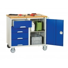 BOTT Verso 5 Drawer + Cupboard Maintenance Trolley 16927122.11V