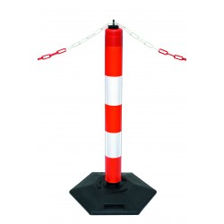 EXTERN Heavy Duty Outdoor Warning Posts 290.22.907