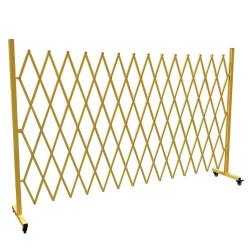 Large Expanding Mobile Safety Barrier BK99014