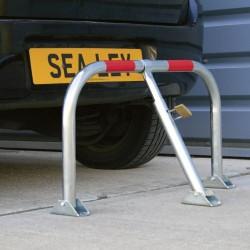Zinc Plated (3-Leg) Parking Barrier PB296