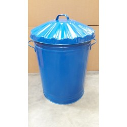 90 Litre Metal Trashcan Bin