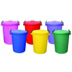 110 Litre Couloured Dustbins