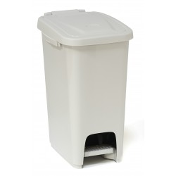 16 Litre Slim Plastic Pedal Operated Bins