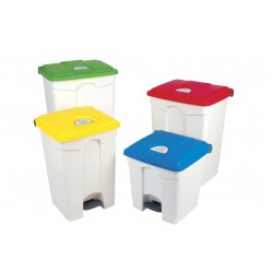 30 Litre All Plastic Pedal Operated Bin