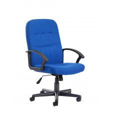 Cavalier Medium Back Fabric Managers Chair
