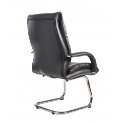 Derby Black Leather Executive Visitors Chair DER100C1-BLK