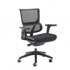 Dynamo Black Frame Operator Chair With Airmax Mesh Seat