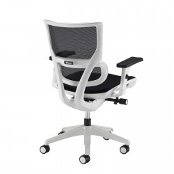 Dynamo White Frame Operator Chair With Airmax Mesh Seat