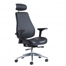 Franklin Leather Contract 24 hour Managers Chair
