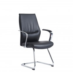 Limoges Leather Visitor Chair LIM100C1