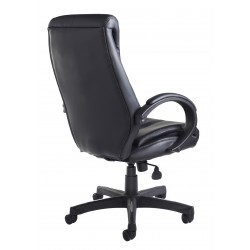Nantes High Back Black Leather Executive Managers Chair