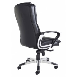 Palermo Black & Grey Leather Executive Managers Chair