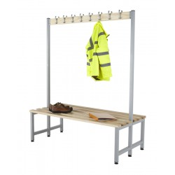 Budget Double Sided Cloakroom Bench