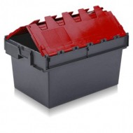 Coloured Attached Lid Containers 1005B