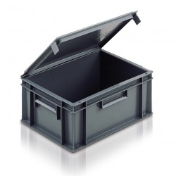 European Stacking Containers With Lids 20C10