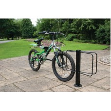 Double Sided Floor Mounted Cycle Rack