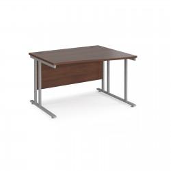 Maestro 25 800mm Deep Cantilever Frame Right Hand Wave Desk