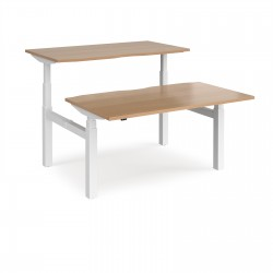 Elev8² Touch Sit-Stand Back To Back Desks