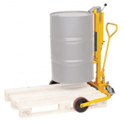 Drum Porter With Wide Straddle