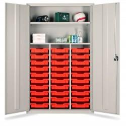 30 Tray Storage Education Teachers Cupboards