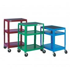 Coloured Height Adjustable Trolleys GI942W