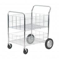 Chrome Wire Basket Trolley SWI52Y