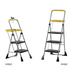 Folding Steps With Yellow Tool Tray FJY02Z