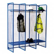 Wire Mesh Lockers WML01Z